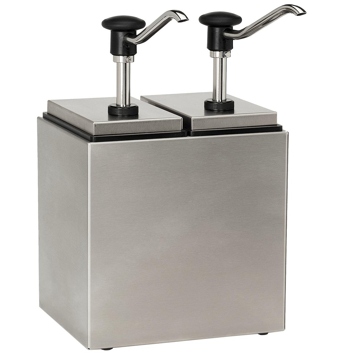 Sauce Bar Push Button Dispensers (2,5 L / 1-6 Piece Design)