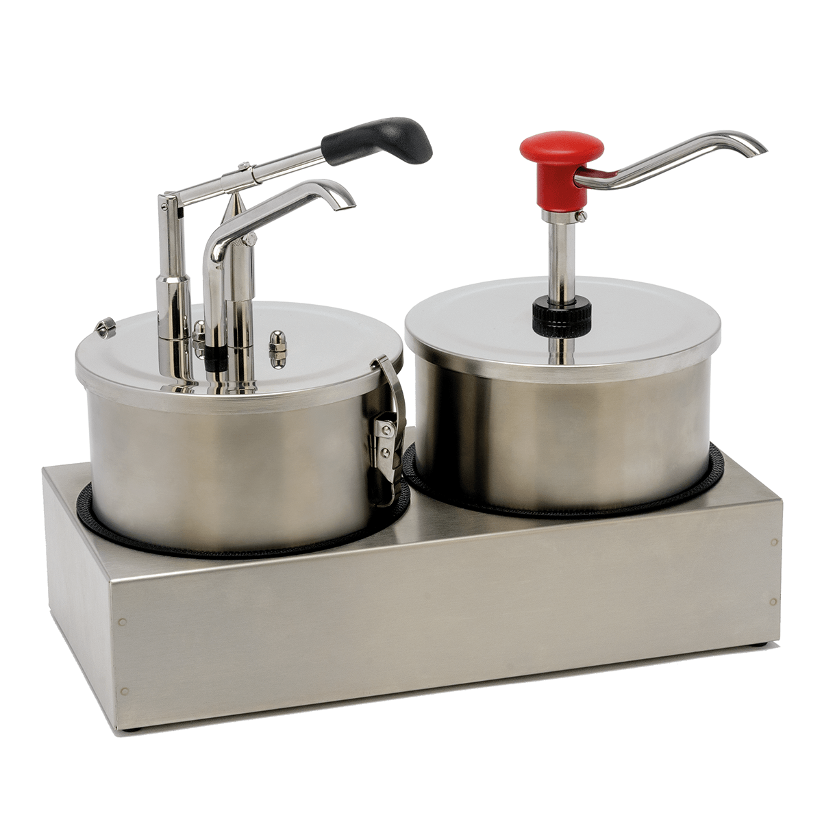 Sauce Bar Lever-action Or Push Button Dispensers