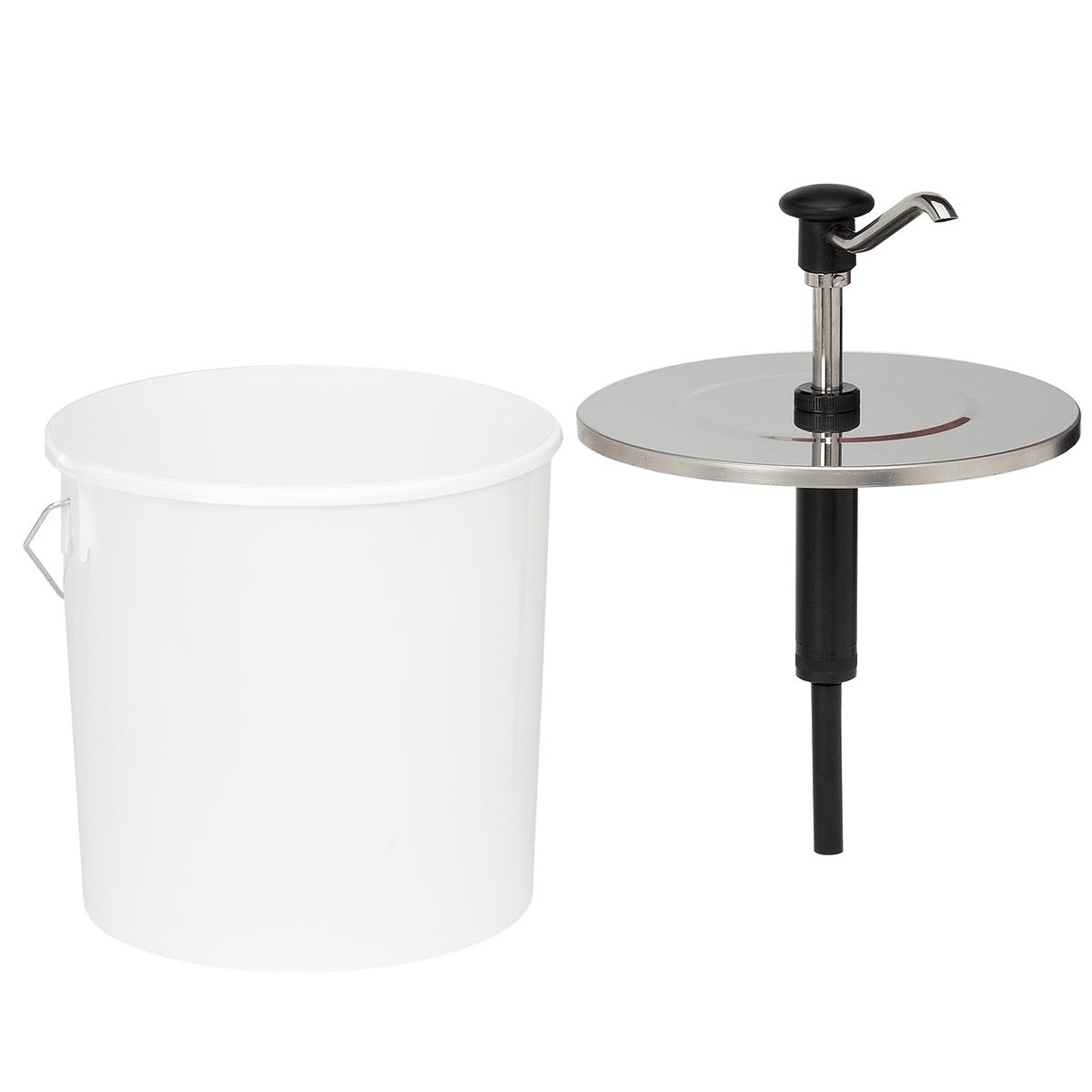 Bucket Push Button Dispenser